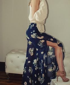 2/$45 NWT Navy Floral Dress Pants